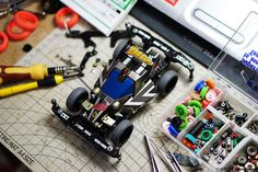 Dash 01 Emperor Black Special arch tires speed setup. #Tamiya #Mini4WD