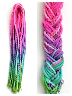 10 DE Wooldreads Rainbow Rave by KatinkaDreads on Etsy