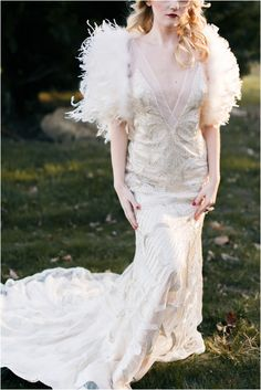 Winter weddings sparkle just like the snowflakes outside, and if you haven't chosen a dress yet, look at the amazing ones we've found for you! A winter bride Unusual Wedding Dresses, Gorgeous Wedding Dress, Winter Bride, Winter Weddings, Bridal Gowns, Wedding Gowns, Wedding Bride, Art Deco, Maggie Sottero Wedding Dresses