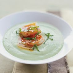 Douglas Keane is such a fan of chilled soups that he puts at least one on his menu every season including winter. The combination of cucumber and red ...