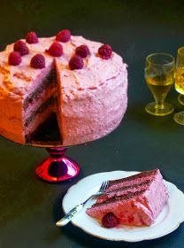 Candy's: Málnamousse torta No Bake Cake, Mousse, Healthy Snacks, Panna Cotta, Cheesecake, Clean Eating, Good Food, Food And Drink, Pudding