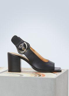 the latest 49787 3366b AALTO Chuky high-heeled sandals Sandal Heels, Heeled Sandals, Designer  Sandals, Latest