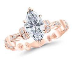https://ariani-shop.com/09-carat-petite-modern-diamond-engagement-ring-with-a-072-carat-marquise-cut-h-color-vs2-clarity-center-stone 0.9 Carat Petite Modern Diamond Engagement Ring with a 0.72 Carat Marquise Cut H Color VS2 Clarity Center Stone