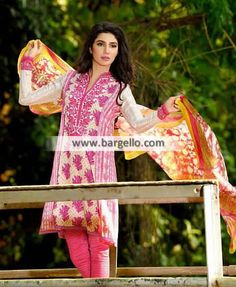 WL8461 Lawn Suits Summer Season Umer Sayeed Lawn April 2015 - UK USA Canada Australia Saudi Arabia Bahrain Kuwait Norway Sweden New Zealand Austria Switzerland Germany Denmark France Ireland Mauritius and Netherlands