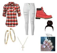 """Untitled #332"" by kimberly14kimberly ❤ liked on Polyvore featuring Frame Denim, Timberland, Lee Cooper, Michael Kors and David Yurman"