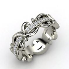 I would love this as a wedding anniversary ring.