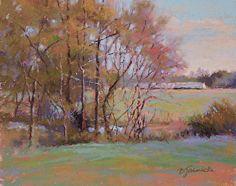 Springtime Awakening by Barbara Jaenicke Pastel ~ 8 x 10