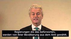 #Video [1:02] #Islamaufklärung #Widerstand_gegen_Islam Klare Ansage von #Geert_Wilders an die Türkei: Ein islamischer Staat wie die Türkei gehört nicht zu Europa. Alle Werte für die Europa einsteht, Freiheit, Demokratie, Menschenrechte, sind unvereinbar mit dem Islam. Die Türkei hat Erdogan gewählt, einen gefährlichen Islamisten, der die Flagge des Islam hochhält. Wir wollen nicht mehr, sondern weniger Islam. Deshalb Türkei, bleibt weg von uns. Ihr seid hier nicht willkommen.