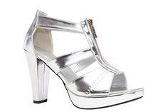 Andres Machado - AM5072 - Sandalen Reissverschluss Soft Silber - http://on-line-kaufen.de/andres-machado/andres-machado-am5072-sandalen-reissverschluss