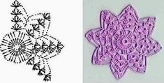 Made by Deni: prosinec . Crochet Snowflakes, Crochet Doilies, Christmas And New Year, Crochet Projects, Snowflakes