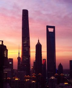 Hello Shanghai! #pink #shanghai   #china #skyscrappers