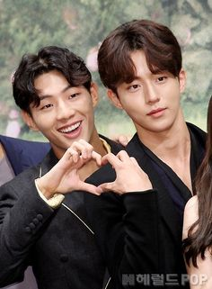 Ji Soo and Nam Joo Hyuk Ji Soo Nam Joo Hyuk, Joon Hyuk, Park Hae Jin, Park Seo Joon, Asian Actors, Korean Actors, Nam Joo Hyuk Wallpaper, Ji Soo Actor, I Hate Boys