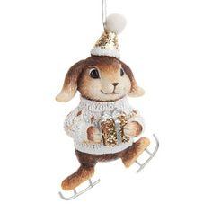 Lapin pampam sapin - Déco Noël Winter - Maisons du Monde