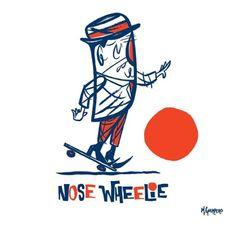 Illustration by M.Guerrero #skate #fun #oldschool