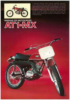 Yamaha Brochure RT1 RT1 MX DT1 DT1 MX AT1 AT1 MX MX 1971 Sales Catalog Repro | eBay