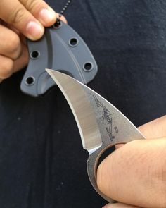 The Emerson La Griffe- simple, efficient, and effective. It makes a great outdoor companion for any situation you may find yourself in. Don't let its size fool you! Each La Griffe comes with its own sheath and neck chain for easy access. Available in black and stonewashed. Link in bio #everydaycarry #lagriffe #emersonlagriffe #everydaytactical #outdoors #tacticalknives #tactical #usnfollow #usnstagram #emersonknives #emersonknivesinc #eki