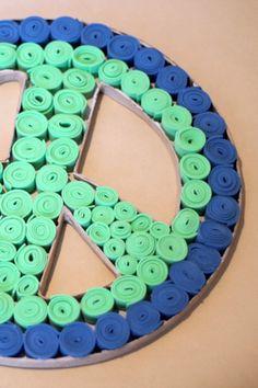 #Room ¡Decora tu habitación con este símbolo de la paz 3D!