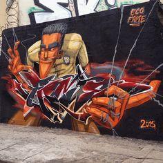 Marcelo Eco Marchon #street #graff #urban #wallart