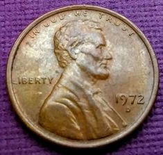 1972 Floating D Penny