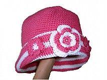 Detské čiapky - Ružový klobúčik - 2340827