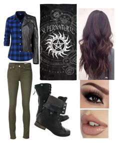 """""""Untitled #72"""" by natoniajjg13 on Polyvore featuring beauty, rag & bone/JEAN and Boohoo"""