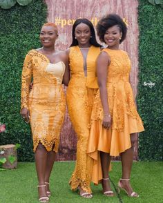 Bridesmaid dress, bridesmaid dress color, Wedding color of the year African Bridesmaid Dresses, African Dresses For Kids, African Wear Dresses, Bridesmaid Dress Colors, Nigerian Lace Styles Dress, Lace Gown Styles, Africa Dress, Modest Dresses, Grand Jour