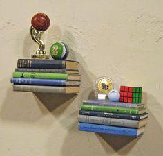 Creative idea for a homemade shelf