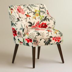 One of my favorite discoveries at WorldMarket.com: Candid Moment Audin Upholstered Chair