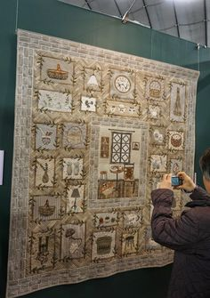 """Country antique ZAKKA"" by Mariko Akahori: Tokyo International Great Quilt Festival"