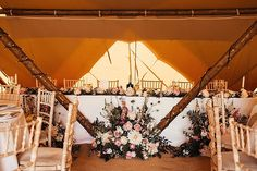 James and Victoria's 'English Garden' Tipi Wedding at Home in Essex by DandA Photography