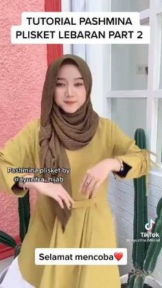 Cara Hijab, Hijab Niqab, Mode Hijab, Hijab Outfit, Hijab Turban Style, Mode Turban, Simple Hijab Tutorial, Hijab Style Tutorial, Pashmina Hijab Tutorial