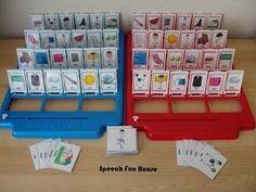 Speech Fun House guess who artic