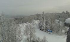 Vue du sommet, Mont Lac-Vert, Hébertville, Québec, décembre 2013 Snowboard, 2013, Photos, Canada, Outdoor, Snow, Green, Travel, Outdoors
