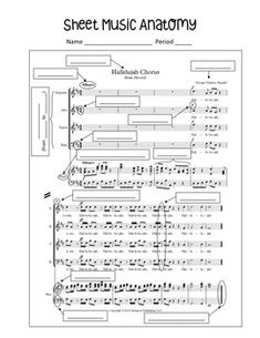 Sheet Music Anatomy by Ms Locey Choir Elementary Music Lessons, Music Lessons For Kids, Music Lesson Plans, Piano Lessons, Elementary Schools, Teaching Orchestra, Piano Teaching, Music Education, Health Education