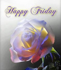 Happy Friday and happy weekend to all