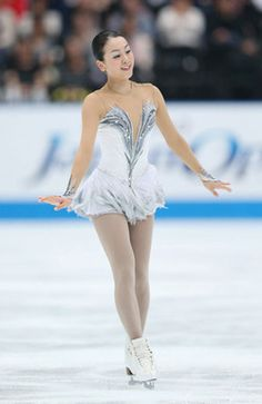 Sometimes it's just about a pretty dress. Mao Asada dress for her long program