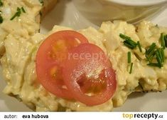 Moje vaječná pomazánka recept - TopRecepty.cz Risotto, Grains, Eggs, Breakfast, Ethnic Recipes, Food, Morning Coffee, Essen, Egg