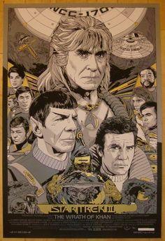 """2012 """"Star Trek II: The Wrath of Khan"""" - Variant by Tyler Stout"""