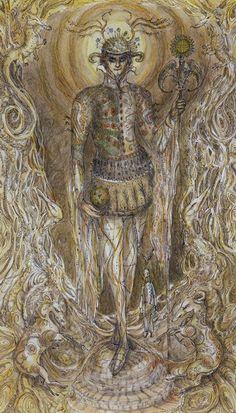 IV - L'empereur - Tarot Paulina par Paulina Cassidy