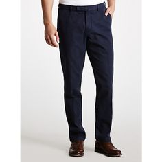 Buy Polo Ralph Lauren Straight Chinos, Aviator Navy, 32R Online at johnlewis.com