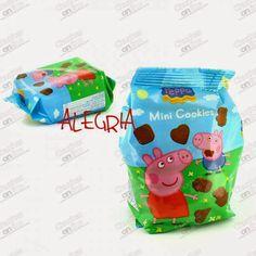 mini cookies-malutkie ciasteczka peppa pig Mini Cookies, Peppa Pig, Nintendo Consoles