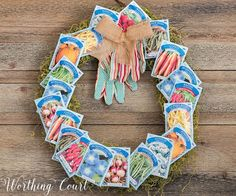 You can use dollar store supplies to make beautiful summer door wreaths! This collection of creative dollar store wreaths will make your front door beautiful on a budget. Some ideas include a succulent wreath, 4th of July wreath, gardening inspired wreaths and wreaths made with fabrics and faux flowers.Dollar store crafts can be gorgeous! #summerdecor #wreaths #dollarstorecrafts