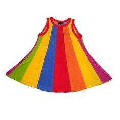 Knotsknetter - Metsola regenboog jurk - Meisjes