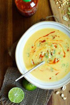Soups Recipes : Butternut Squash   Coconut Soup  : Soups Recipes