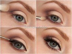 Dreamy eyes makeup tutorial