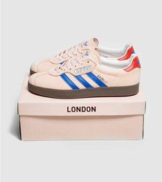 feac53b182aedf adidas Originals London to Manchester Gazelle Super size  Find the freshest  in trainers and clothing online now.