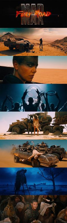 Mad Max Fury Road (2015) Just saying mad max har typ precis den estetik vi letar efter