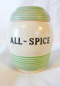 T.G. Green 'Streamline' All-Spice jar