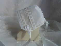 Handkerchief Baby Bonnet Heirloom #Magic #Hanky Bonnet ANNABELLA LACE - #Great fo,  View more on the LINK: 	http://www.zeppy.io/product/gb/3/177831791/