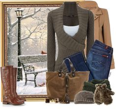 """Baby, It's Cold Outside"" by angkclaxton on Polyvore"